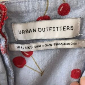 b6b1325733e Urban Outfitters Dresses - UO colette linen stretch cherry print dress sz 4